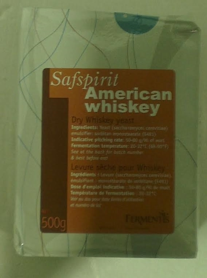 Picture of SafSpirit - American Whiskey Dry Yeast 500g (AMERICAN)