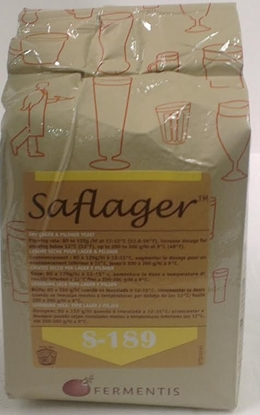 Picture of Fermentis - Saflager S-189 - Dry Yeast (500gm)