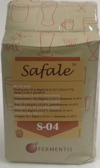 Picture of Fermentis Safale S-04 - Dry Yeast (500gm)