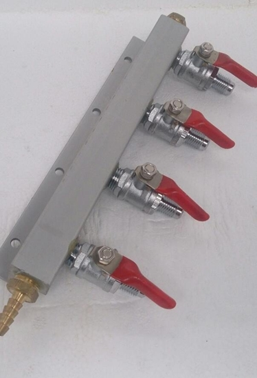 Picture of Gas Manifold 4 way MFL