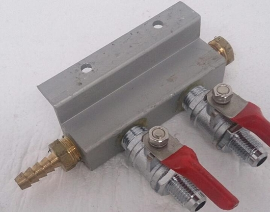 Picture of Gas Manifold 2 way MFL