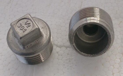 """Picture of Hollow Plug - 1/2"""" Bsp"""