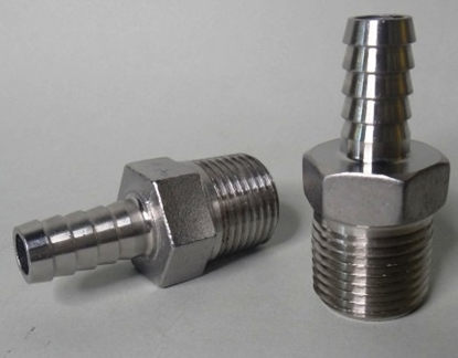 "Picture of Barb S/S (1/2"" Bsp to 3/8"" Barb)"