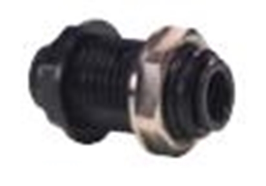 "Picture of Bulkhead Connector OD 5/16"" (8mm)"