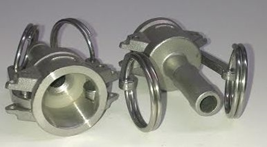 """Picture of Camlock Socket 1/2"""" Hose End"""
