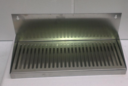 Picture of Drip Tray SS with splashback 40cm
