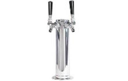 "Picture of Font 3"" Stainless - 2 Tap"