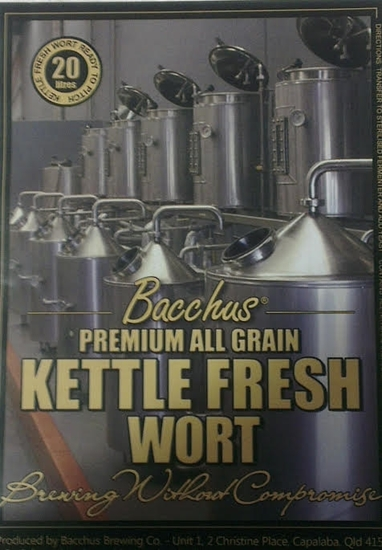 Picture of Bacchus Bayside Pale - Session IPA Fresh Wort kit (20L) + Dry Hop Pack