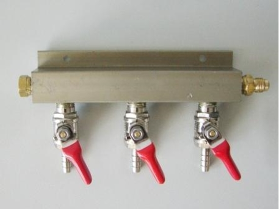 Picture of Gas Manifold 3 way