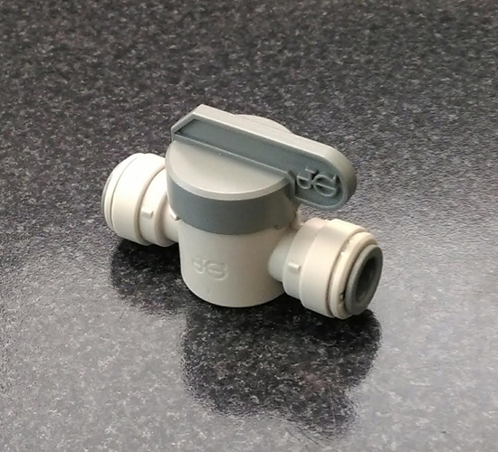 "Picture of John Guest Shut off valve 3/8"" x 3/8"""