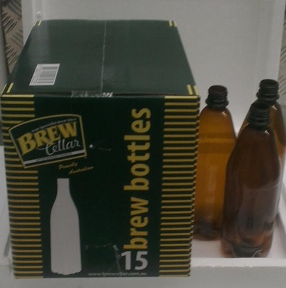 Picture of Bottles PET Brown (ctn 15)