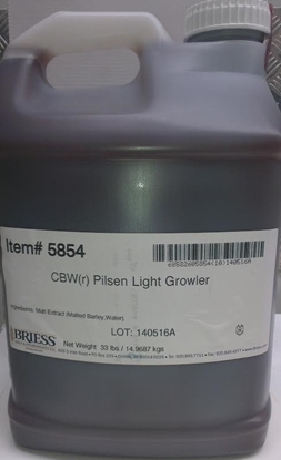 Picture of Briess Pilsen Light Liquid Malt Extract 14.5kg