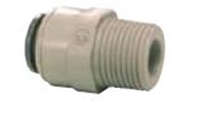 Picture of Straight Adaptor 1/4 NPTF x 5/16 (8mm)
