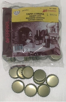 Picture of Crown Seals- Tirage 29mm 100pk (For Champagne Bottles)