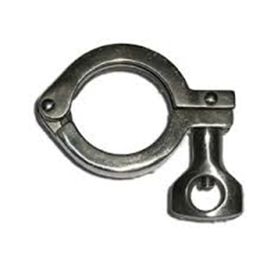 "Picture of 2"" Tri-Clove Clamp."