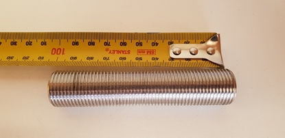 Picture of Westway s/s 1/2 inch threaded pipe 100mm long