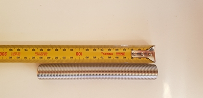 Picture of Westway s/s 1/2 inch threaded pipe 150mm long