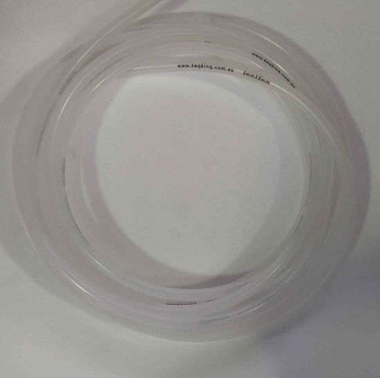 Picture of Keg King Beer/Gas Line 5mm ID x 8mm OD -  2 Metre Roll