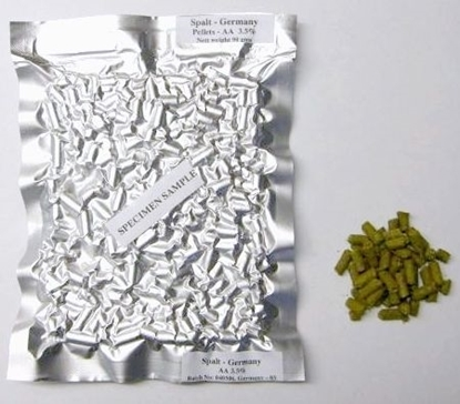 Picture of Hallertau Mittlefrueh Hops (pellets 90gm)