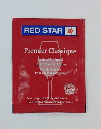 Picture of Red Star Dry Yeast - Premier Classique  5g (Formerly Montrachet)