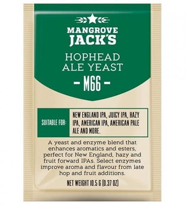 Picture of Mangrove Jack's M66 Hophead Ale Yeast 10g