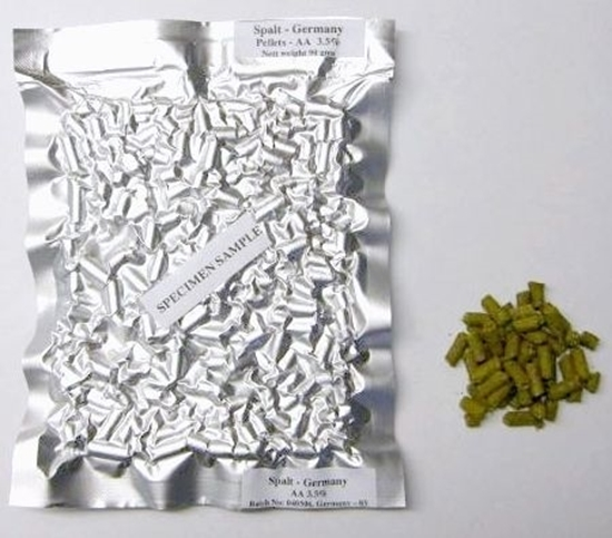 Picture of Amarillo Tropical Expression Hops (pellets 90g) (Trop Exp)